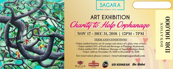 sagara charity event december 2018
