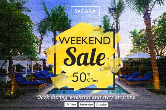 weekend sale on sagara candidasa - bali